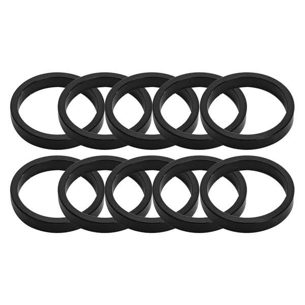Origin8 Headset Spacers - Black, 10mm x 1""