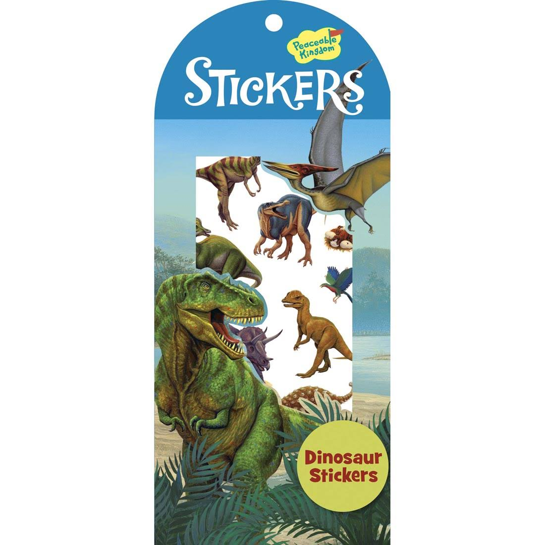 Peaceable Kingdom Dinosaur Sticker Pack