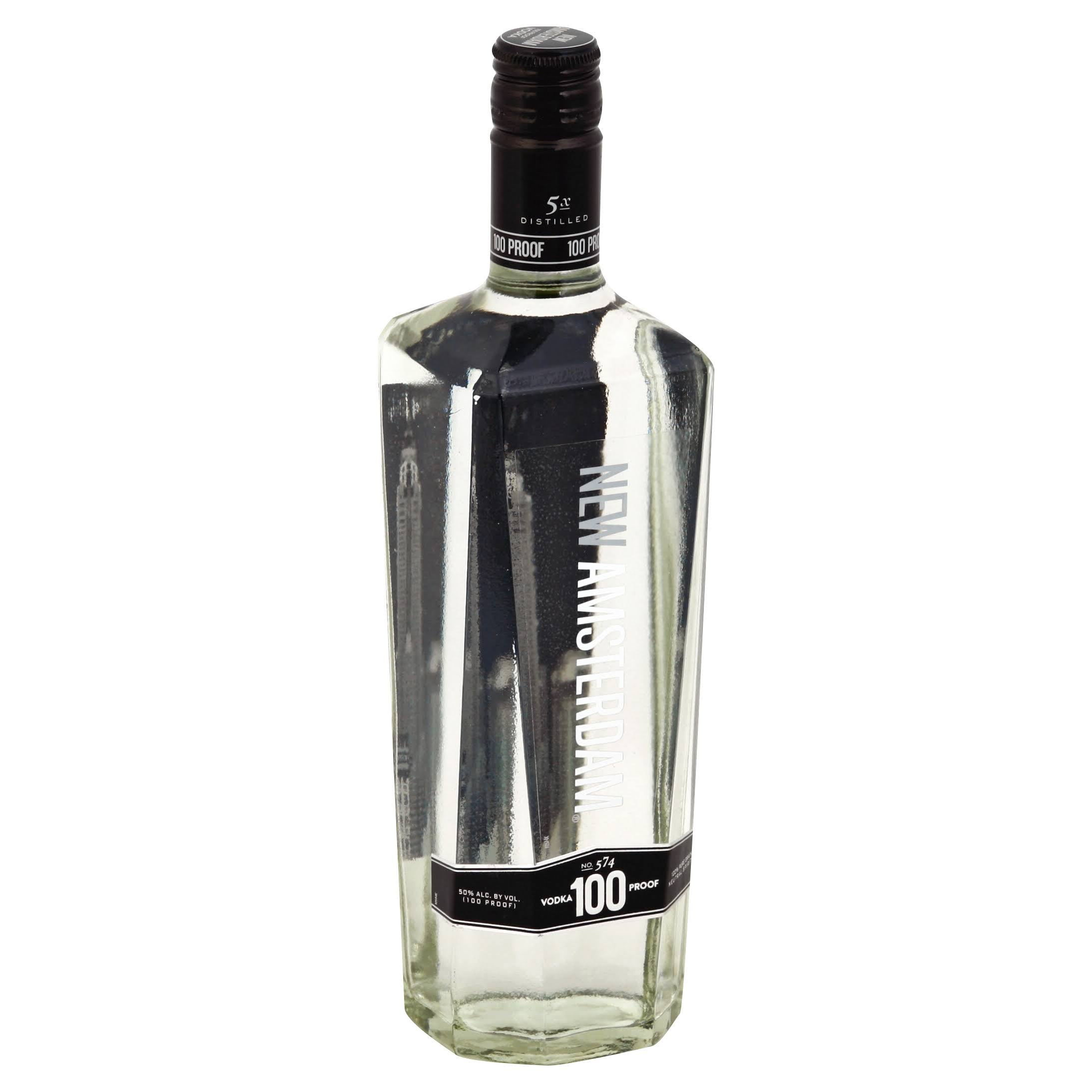 New Amsterdam Vodka, No. 574, 100 Proof - 750 ml