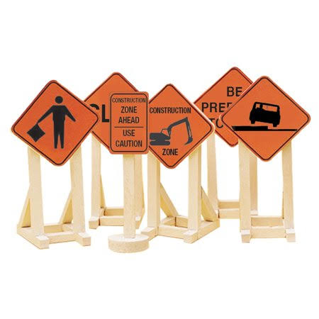 Lionel O Construction Zone Signs #2