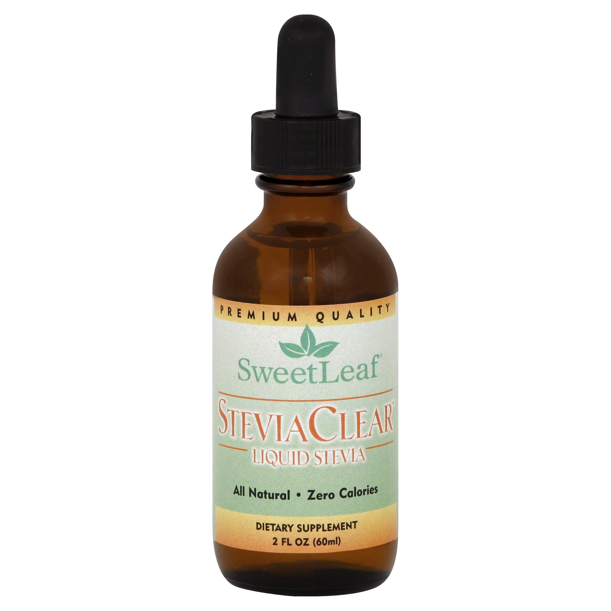 Sweet Leaf Liquid Stevia Clear Sweet Drops - 57g
