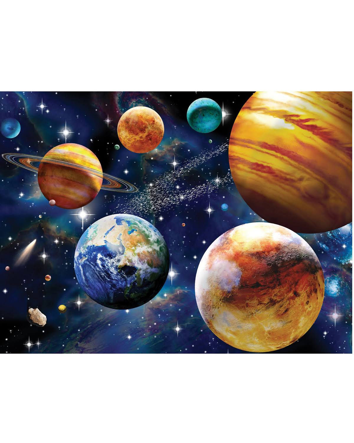 Ravensburger Space Jigsaw Puzzle - 100pcs