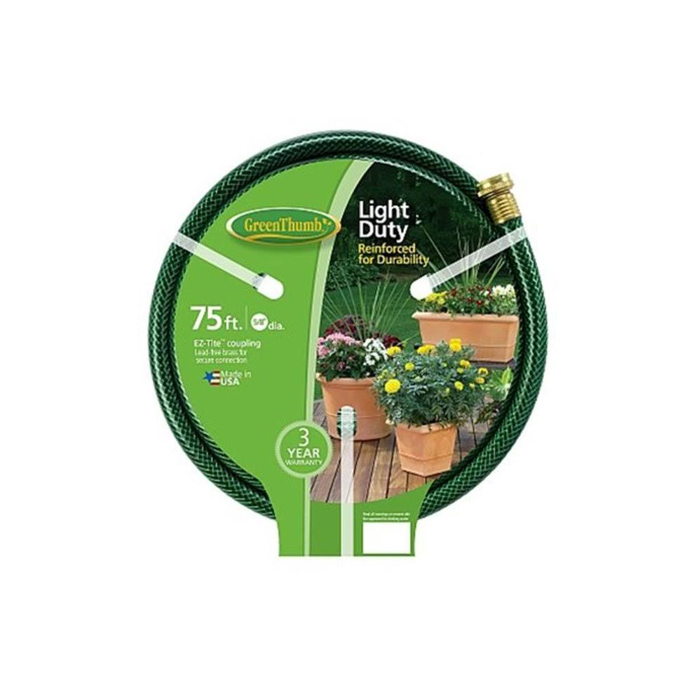 "Green Thumb Light Duty Vinyl Garden Hose - 5/8"" x 75'"
