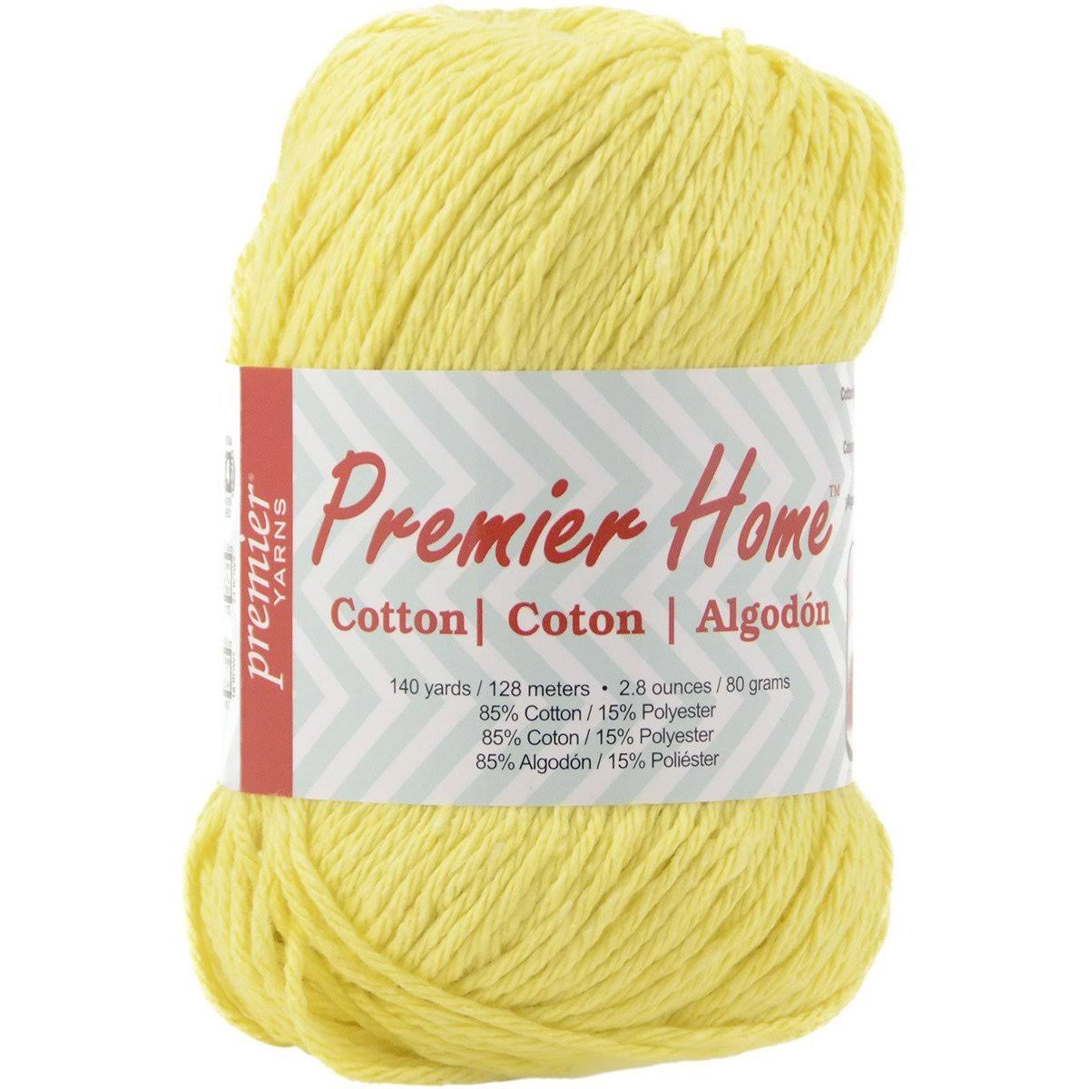 Premier Home Cotton Yarn - Sunflower, 140yds
