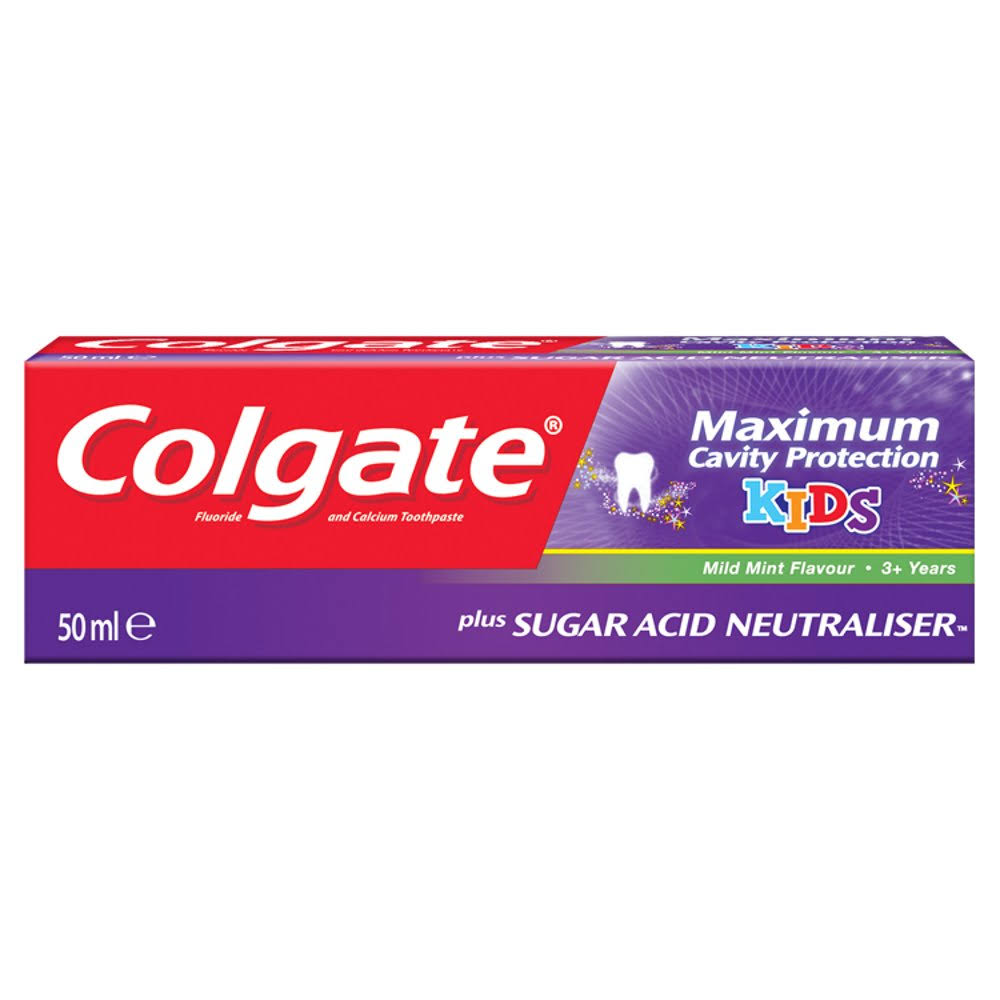 Colgate Kids Maximum Cavity Protection Toothpaste - 50ml