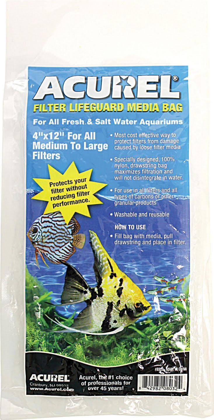 "Acurel Filter Lifeguard Media Bag 4""x12"""