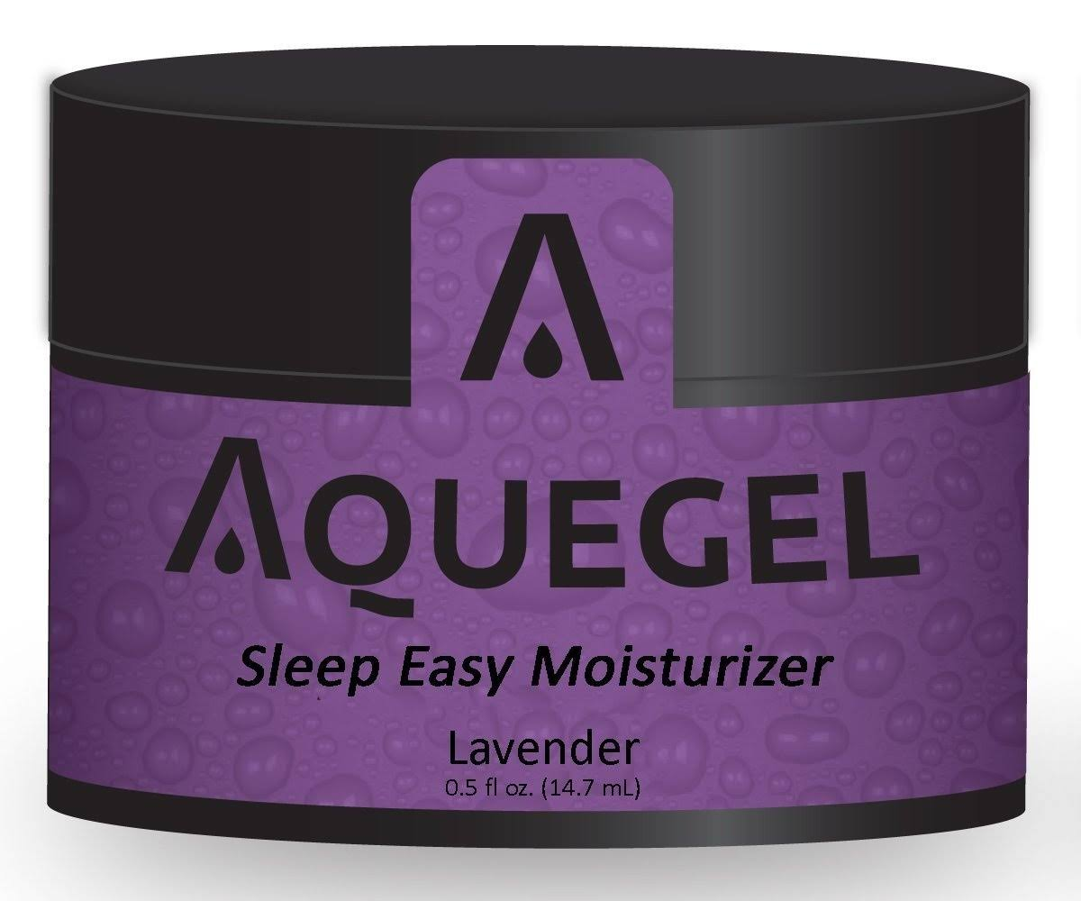 Aquegel Sleep Easy Moisturizer - Lavender, 0.5oz