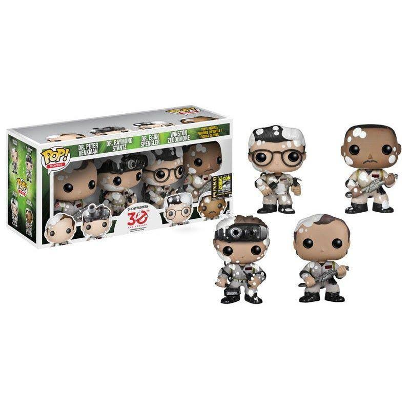 Funko Pop! Movies: Ghostbusters 30th Anniversary 4-Pack