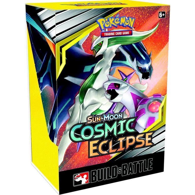 Pokemon Tcg Sun and Moon Cosmic Eclipse Build and Battle Box Card Game