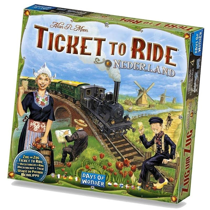 Ticket to Ride: Nederland Map Collection 4