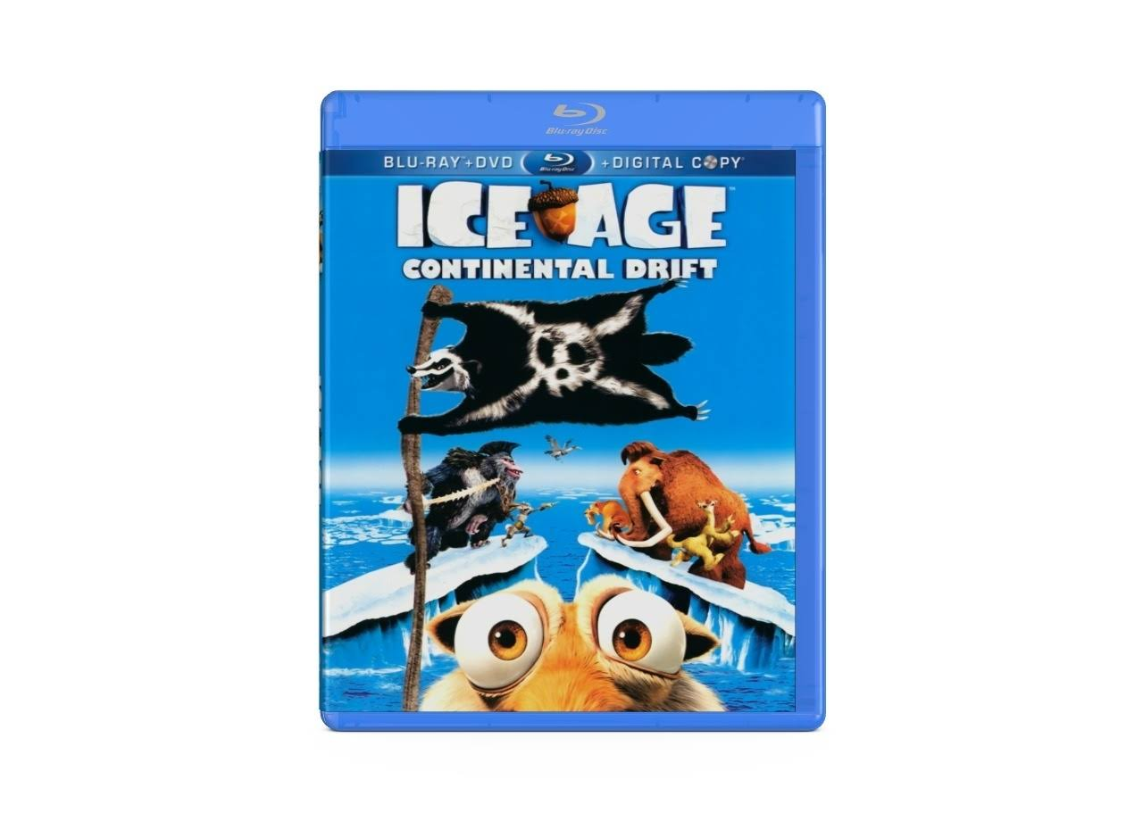 Ice Age: Continental Drift Bluray