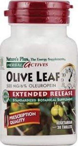 Nature's Plus Olive Leaf Extract - 500mg, 30ct