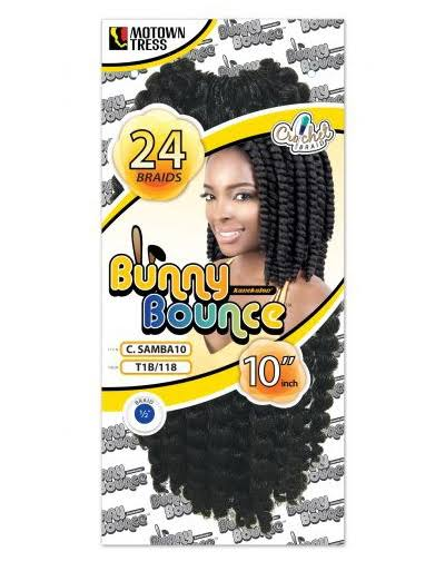 Motown Tress Bunny Bounce Crochet Braid Samba 10""