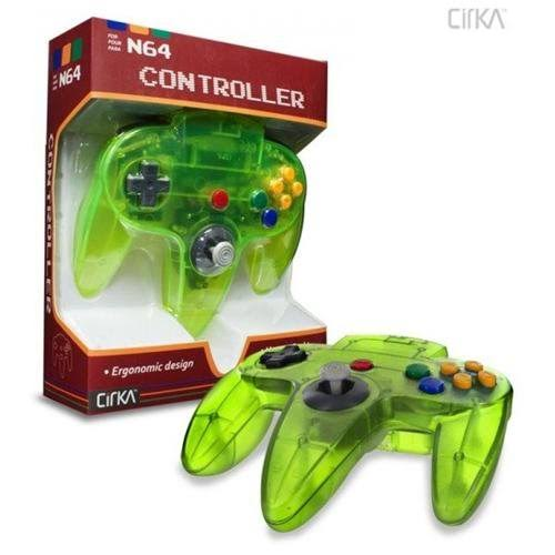 N64 CirKa Controller - Cyanine Jungle