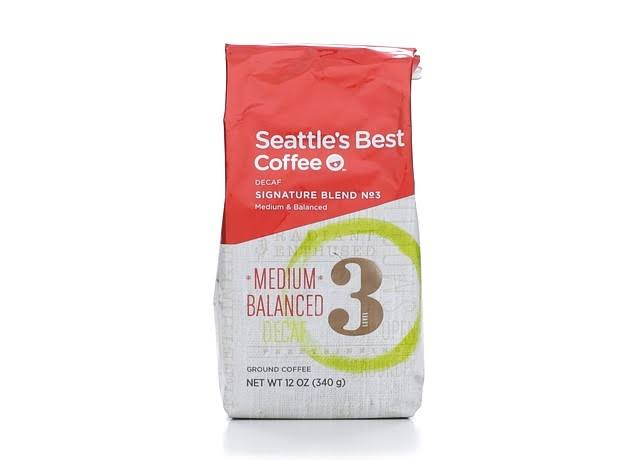 Seattle's Best Coffee Signature Blend No 3 Decaf Ground Coffee - 12oz