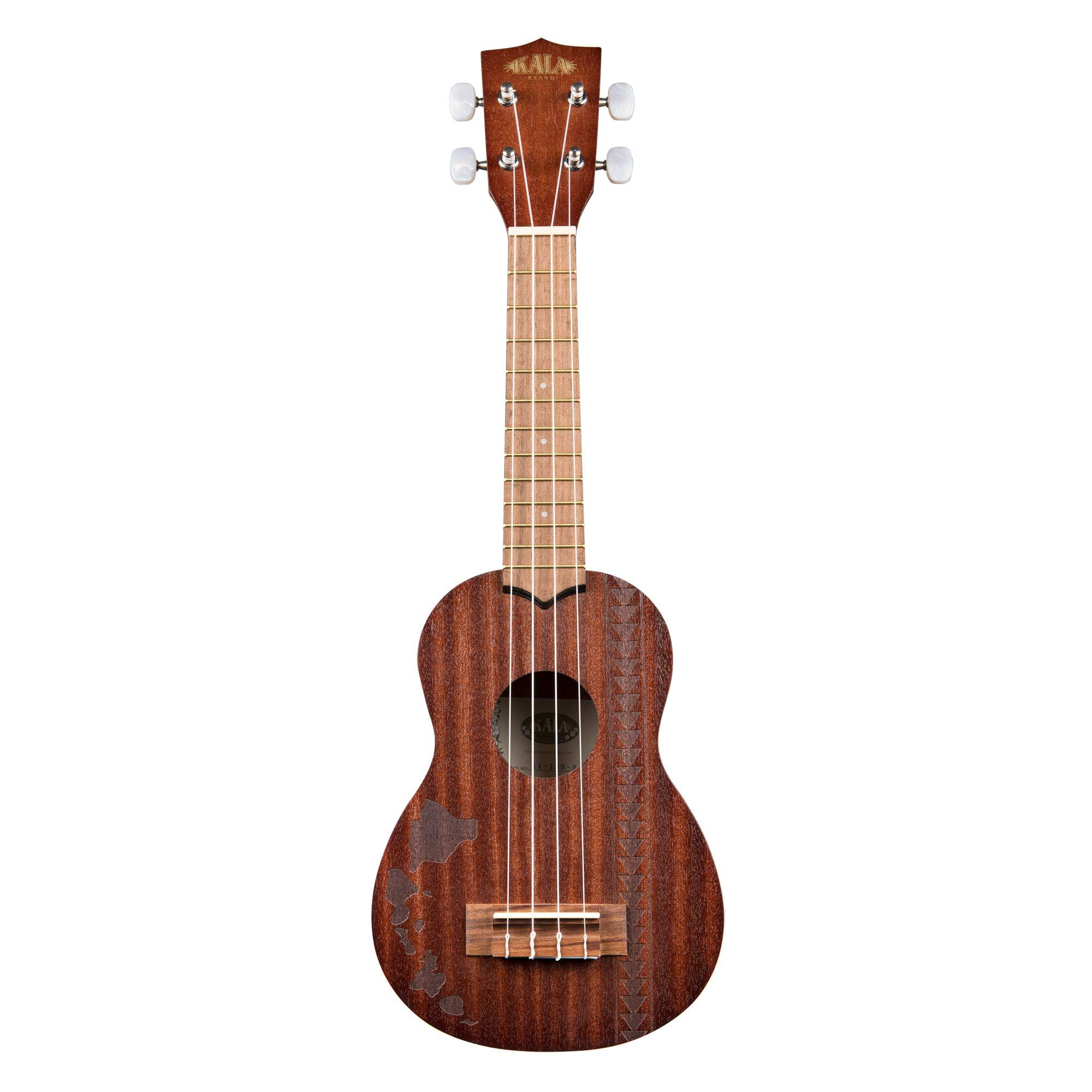 Kala KA-15-S-H2 Soprano Ukulele - Hawaiian Islands