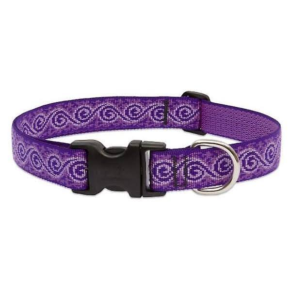 "Lupine Jelly Roll Adjustable Dog Collar - 3/4"" x 15-25"""