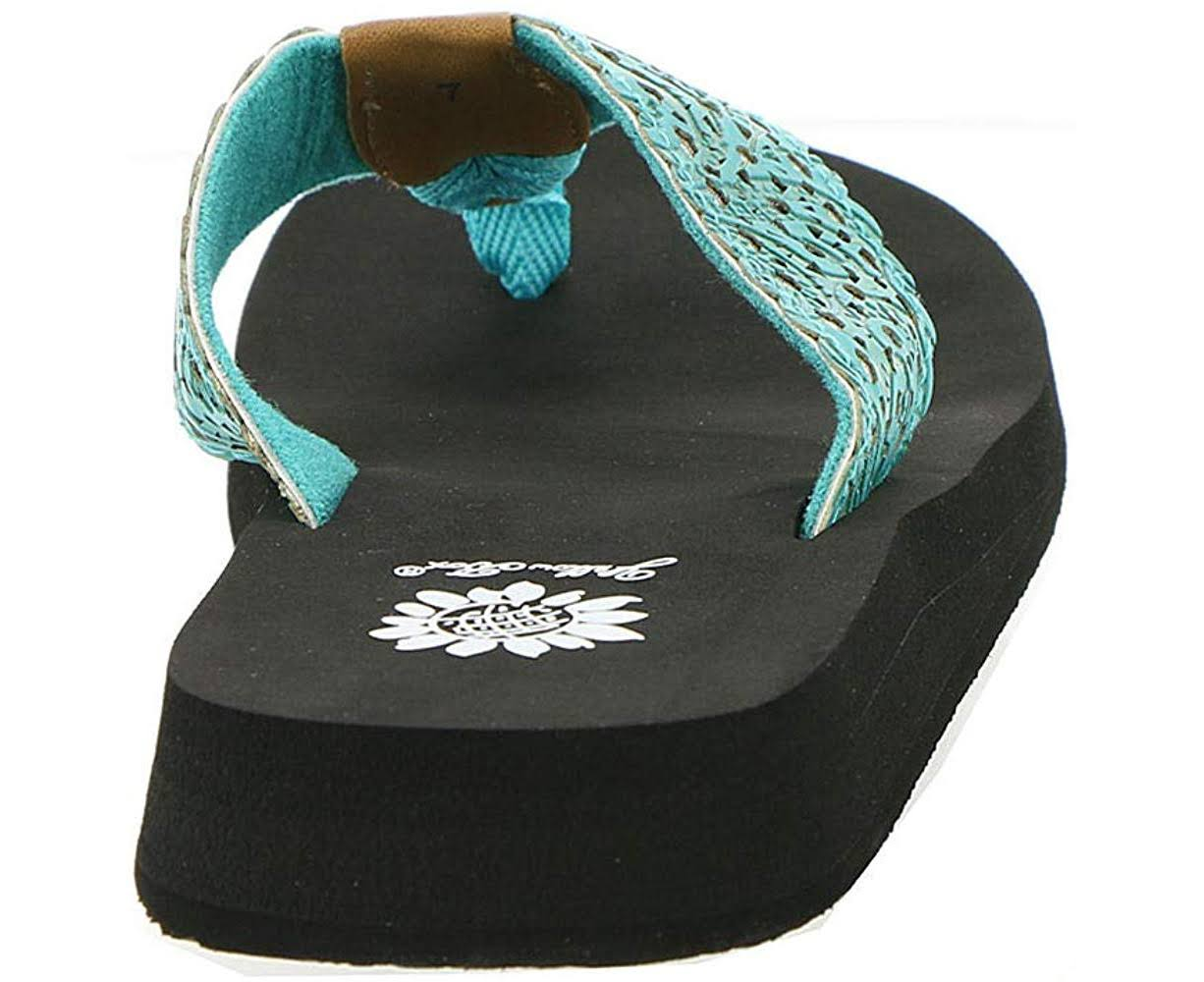 Yellow Box Fredie Women's Sandal, Turquoise