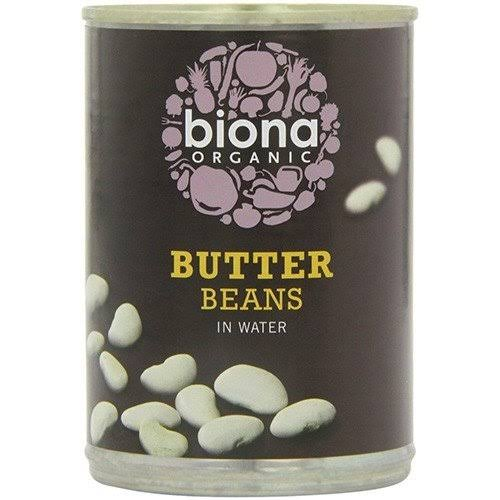Biona Organic In Water Butter Beans - 400g
