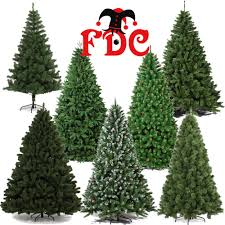 Artificial Christmas Tree 6ft by Artificial Luxury Christmas Xmas Trees Assorted Styles 1 8m 6ft