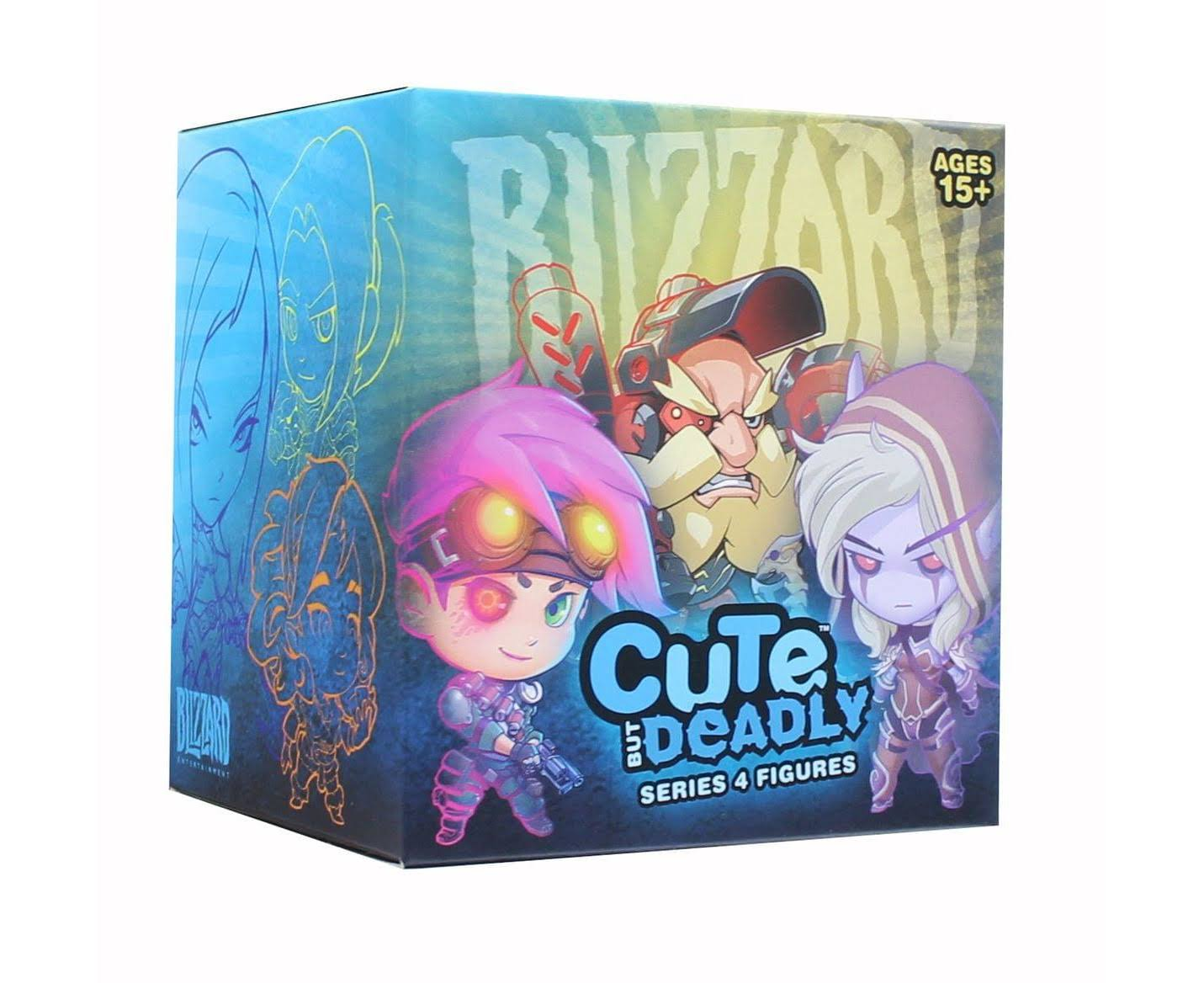 Blizzard Overwatch Blind Boxed Cute But Deadly Series 4 - One Random