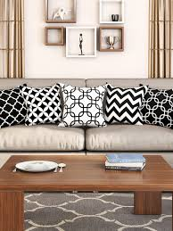 Black Sofa Covers India by Cushion Covers Buy Cushion Cover Online In India Myntra