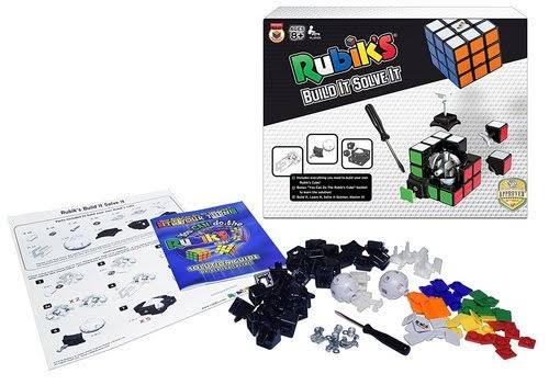 Winning Moves Rubik's Build It Solve It! Box Toy