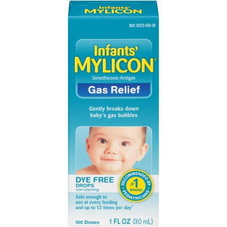 Mylicon Infants Gas Relief Dye Drops - 1oz