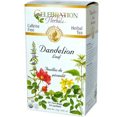 Celebration Herbal Tea - Dandelion Leaf, 24 Tea Bags