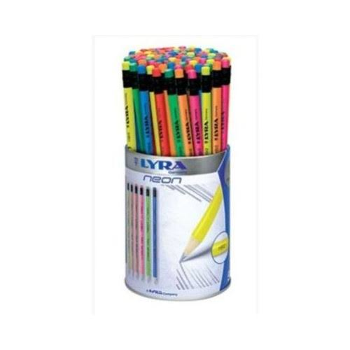Lyra Rubber Top Neon Pencil