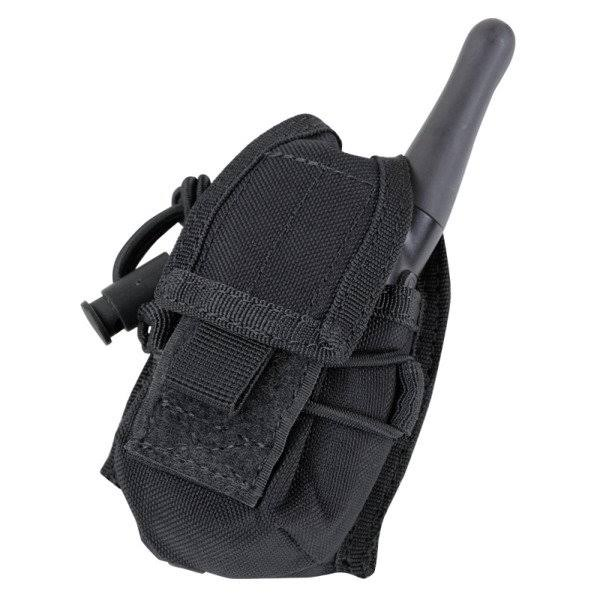 Condor Ma56 Tactical HHR Radio Pouch - Black