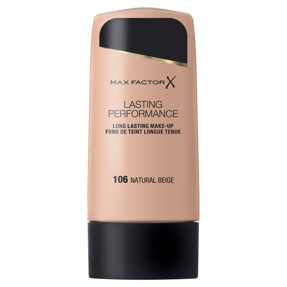 Max Factor Lasting Performance Foundation - 106 Natural Beige, 35ml