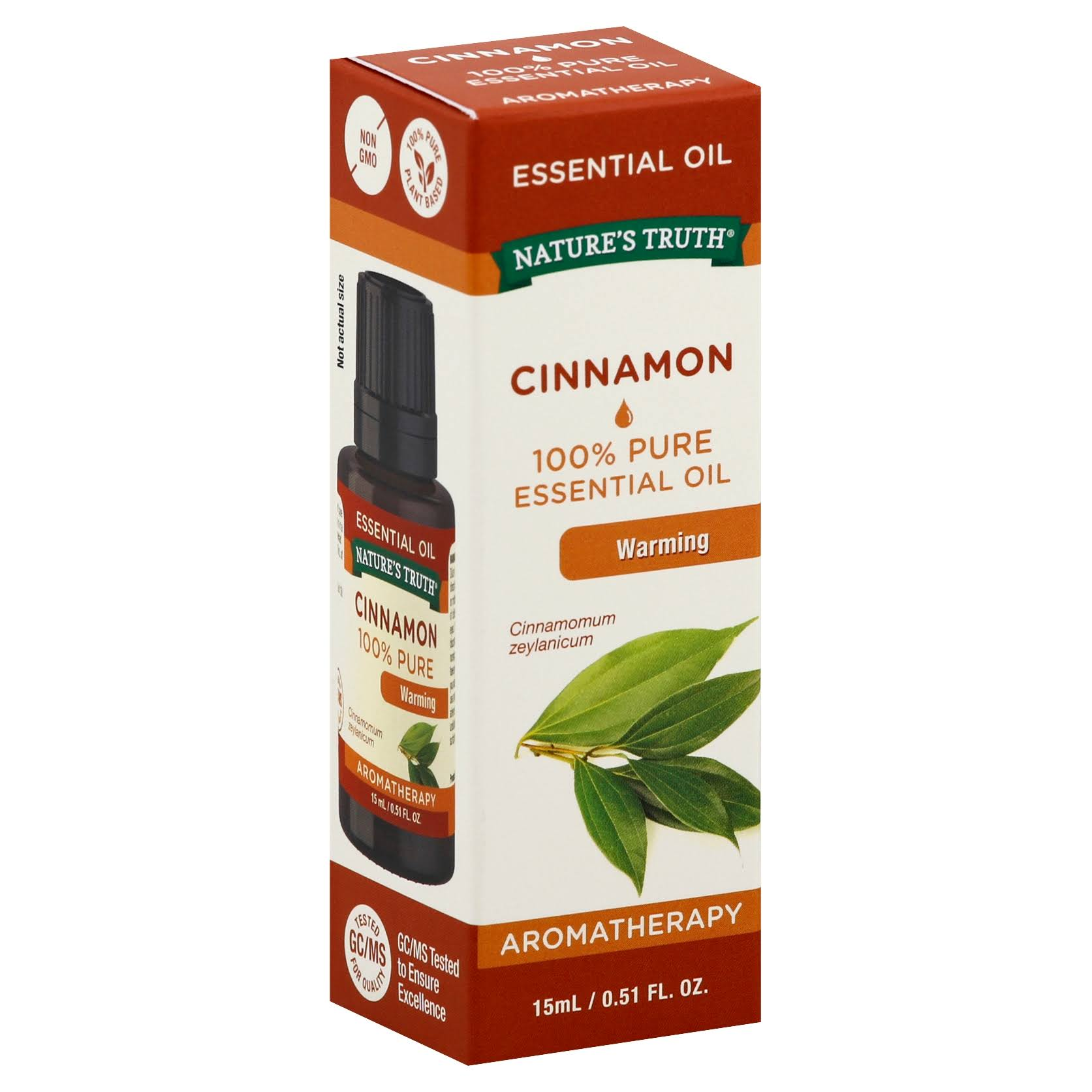 Nature's Truth Aromatherapy Essential Oil - Cinnamon, 15ml