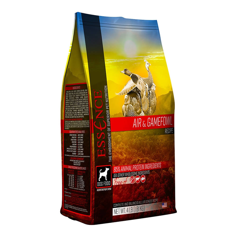 Essence Air & Gamefowl Recipe Dry Dog Food - 4lb