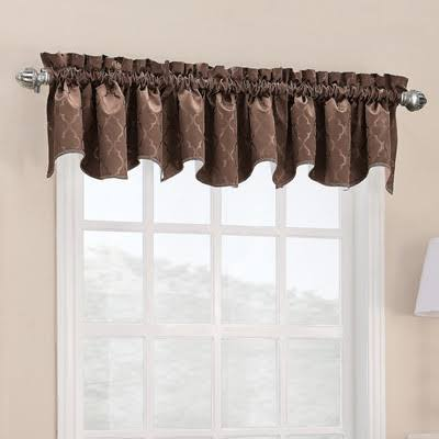 Sun Zero Danvers Thermal Lined Curtain Panel - Chocolate, 40""