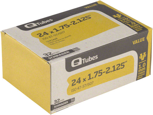 Q-Tubes Value Series Schrader Valve Tube