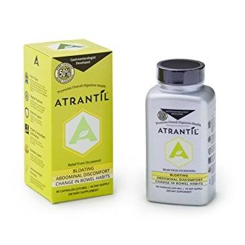 Atrantil Relieves Bloating and Abdominal Discomfort Capsules - 90ct