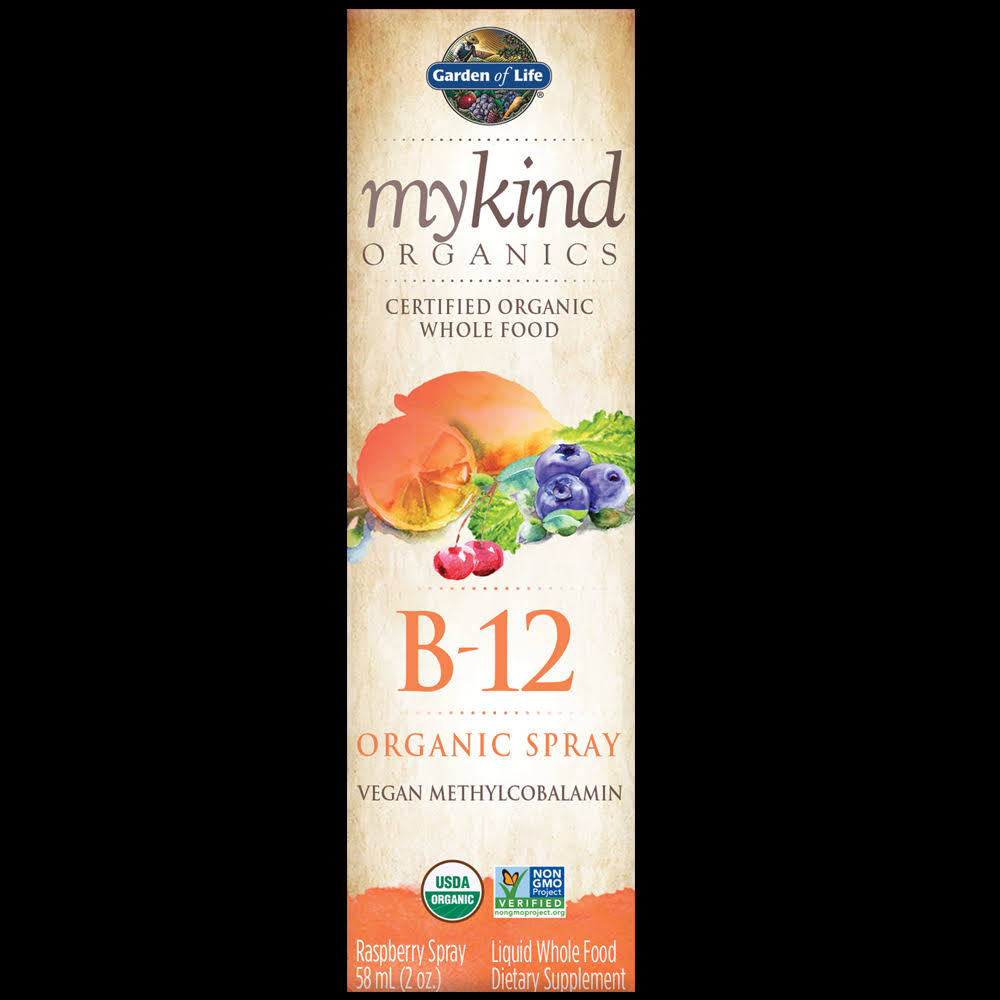 Garden of Life Mykind Organics B-12 Spray