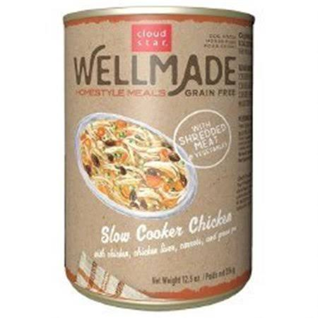 Wellmade Grain-Free Homestyle Meals Slow Cooker Chicken 12.5 oz.