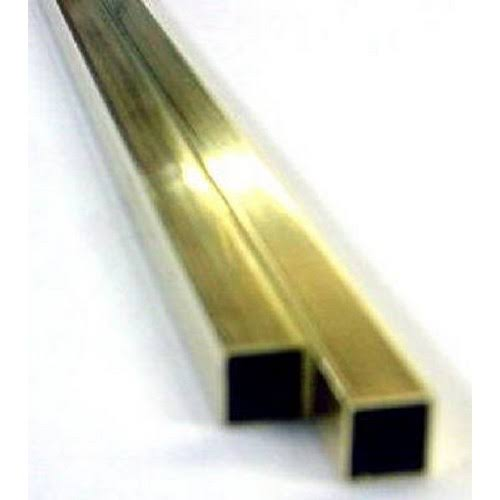 K & S Brass Square Tube 8152