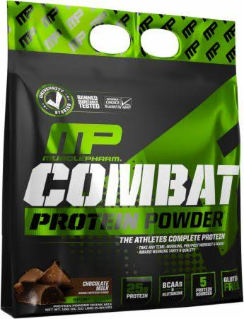 MusclePharm Combat Chocolate Milk Protein Powder Dietary Supplement - 10lbs