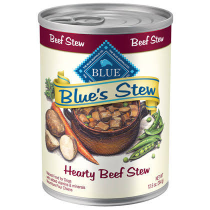 Blue Buffalo Blue's Stew Canned Dog Food - Hearty Beef Stew, Adult, 12.5oz