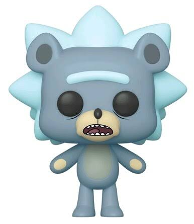 Funko Pop! Animation: Rick & Morty - Teddy Rick Vinyl Figure