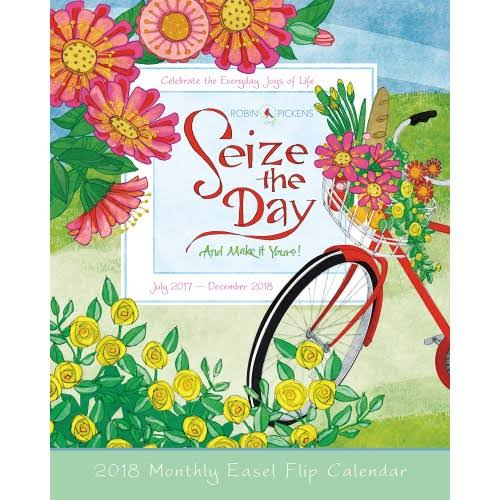 Seize The Day Easel Calendar