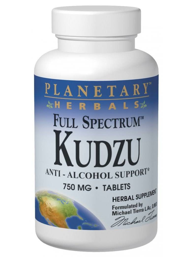 Planetary Herbals Full Spectrum Kudzu Supplement - 60ct