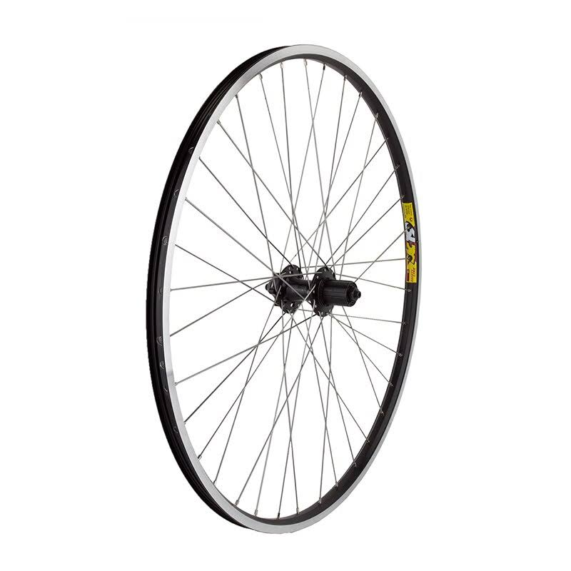 Wheel Master Disc Rear Bicycle Wheel - Black, 700c