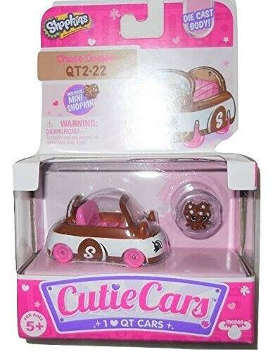Cutie Cars Shopkins Single Pack - Chase Cookie