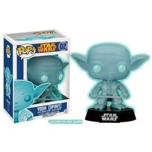 Funko POP! Star Wars Vinyl Figure - Yoda Spirit, Glow-in-the-Dark