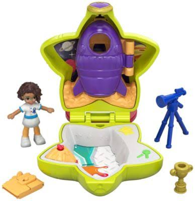 Polly Pocket Tiny Pocket Places Rockin' Science Compact Playset