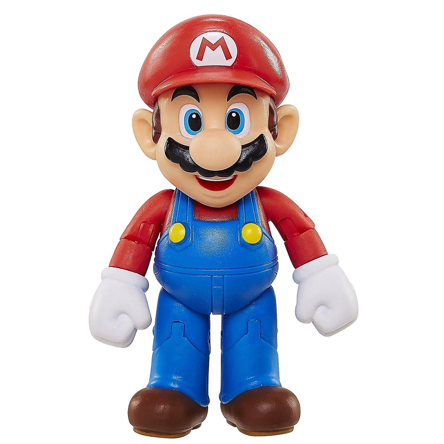 World of Nintendo Mario Maker with Utility Belt Action Figure - 4""